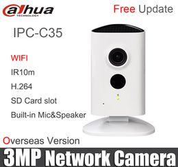 $enCountryForm.capitalKeyWord UK - Dahua IPC-C35 3MP C Series Wi-Fi Network Camera replace ipc-a35 H.264 IR 10m wireless built-in mic& speaker original DH-IPC-C35