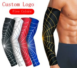SleeveS extenSionS online shopping - Basketball Elbow Pads Spandex Protector Outdoor Sports Elbow Extension Brace Arm Sleeve Sports Equipment Support FBA Drop Shipping H395F