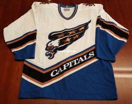 cd9d8c8085b Authentic Vintage Hockey Jerseys Canada - Wholesale Custom Washington  Capitals Vintage CCM Cheap Center Ice Authentic