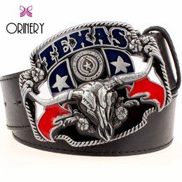 Buckles & Hooks Retail Good Plating Skull Belt Buckle Cowboy Cowgirl Cool Skeleton Skull Head Metal Buckles Apparel Accessories Suit 4cm Pu Belt 2019 Official