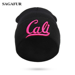 skulls accessories 2018 - SAGAFUR Men Women Beanies 3D Embroidery High Quality New Winter Fashion Accessory Headwear Brand Hat Female Soft And War