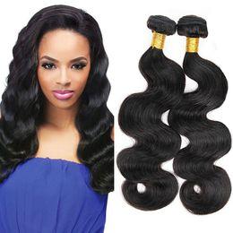 $enCountryForm.capitalKeyWord NZ - New Arrivals Malaysian Body Wave 4 Bundles Deals 100% Human Hair Extensions Cheap Brazilian Indian Peruvian Virgin Hair Natural Color 1B