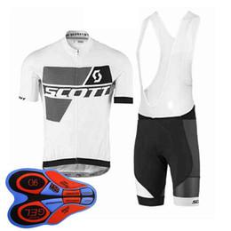 $enCountryForm.capitalKeyWord NZ - Scott team Cycling Short Sleeves jersey (bib) shorts sets new bike Outdoor Sports Clothing men's MTB bicycle ropa ciclismo 92831J