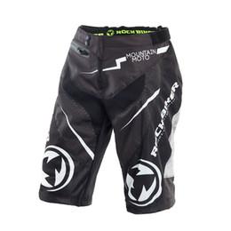 ROCK BIKER Pantalones de motocross Pantalones cortos para motocicletas Bicicleta de montaña MTB ATV MX DH Pantalones cortos de bicicleta de montaña Pantalones cortos de carretera
