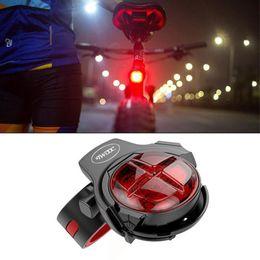 Bike Brake light rear online shopping - 160mAh lithium battery TWOOC LED Cyling Bicycle Rear Light Intelligent Brake USB Motorcycle Waterproof Bike Tailight