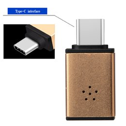 microphone plugs 2018 - Mini Portable Type C Port Microphone Audio Adapter Plug And Play Mini Mic Noise Cancellation for Smartphone Computer dis