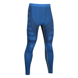 925101a7e2a15 Fitness male basketball running training pants elastic compression fast pants  sports tight long shaped trousers MA05