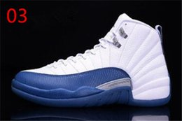 148d3bfbce7 2019 newS Cheap Basketball shoes 12 12s White playoffs french blue taxi  Gamma Blue flu game Mens Trainers Zapatos Sports Sneakers Size 36-47