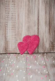 $enCountryForm.capitalKeyWord Canada - Baby Newborn Wood Photography Props Backdrop Vintage Printed Pink Love Hearts Decor Valentines Day Kids Children Photo Shoot Backgrounds