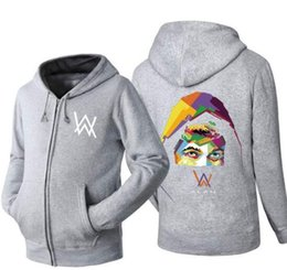 Skull dj online shopping - Cotton hoodie men Sweatshirts Music DJ Comedy  Alan Walker Hip Hop 5f6540db976a