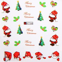 $enCountryForm.capitalKeyWord Australia - Shellhard 12 Styles Christmas Tree Nail Stickers Snowflakes Snowmen Transfer DIY Kids Christma Nail Decals New Year Gift
