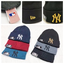 Ny cap girl online shopping - IN STOCK NY Hats Boys Girls Beanies Unisex  Autumn Winter 41e35aed617
