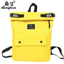 $enCountryForm.capitalKeyWord Canada - MENGHUO Fashion Large Capacity Men Women Backpack Youth Korean Style Shoulder Bag Ladies School Student Rucksack Travel