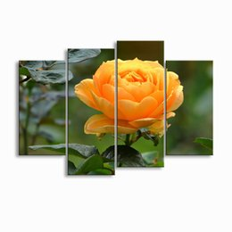 Digital Prints Canvas Australia - painting & calligraphy print Rose canvas poster wall art living room restaurant Bedroom Decorative paintings MGE4-011