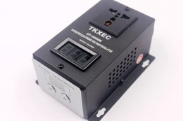Chinese  high quality AC 220V 10000W SCR Electronic Voltage Regulator Temperature Speed Adjust Controller Dimming Dimmer Thermostat manufacturers