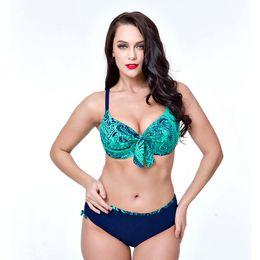 01465001a25 Push Up Bikinis Female Plus Size Bathing Suit Swim Suit Underwire Swimsuit  for Women Big Cup Swimwear Lady Blue Red Tankini Set