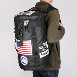 China 18ss SUP THE NORTH Backpack FACE Lovers Travel Duffel Bag School Shoulder Bags Stuff Sack Sports Backpacks Outdoor Handbag Free Shipping supplier bucket bag men suppliers