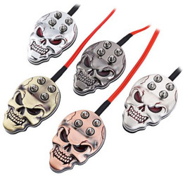 Wholesale Tattoo Machine Power Supply Foot Pedal Switch Skull