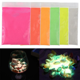 $enCountryForm.capitalKeyWord Australia - 10g Hot Fluorescent Powder Super Bright Glow in the Dark Powder Glow Pigment DIY Festival Party Decoration