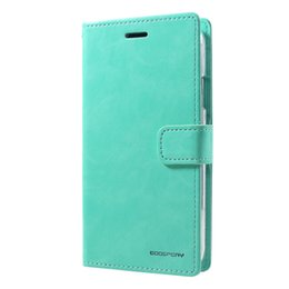 $enCountryForm.capitalKeyWord UK - MERCURY GOOSPERY Phone Cover for iPhone XR Blue Moon Flip Wallet Leather Phone Shell with Stand Case Capa for iPhone XR Fundas
