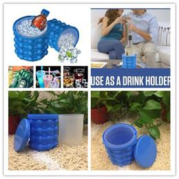 Space Saving Kitchen NZ - DHL free shipping Ice Cube Maker Genie The Revolutionary Space Saving Genie Irlde Ice Genie Kitchen Tools Ice Buckets