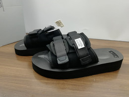 0614215dab718b 2018 New CLOT X SUICOKE Slide Sandalen Top Qualität MOTO-VS Männer Und  Frauen Nylon Gummi Sommer Hausschuhe Strand Outdoor Schuhe