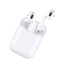 Mini Earpods Sem Fio I9 TWS Stereo Baixo Fones de Ouvido Para O Telefone Com 600 mA Caixa de Charme Magnética VS I7S