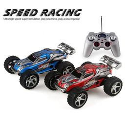 Rc Car Off Road Speed Canada - 12cm 2 .4ghz 1 :32 2019 Rc Car 5 Speed Gears Remote Control Monster Truck Toy Rc Car Motor Electric Off Road Drift Car Kart Mode