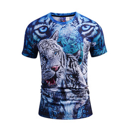 $enCountryForm.capitalKeyWord UK - Fashion Men Women T-shirt 3d Tiger Designed Stylish Summer T shirt Brand Tops Tees Plus Size M-3XL BL-435