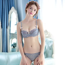 2781eb9f5330 DiamonD unDerwear online shopping - Japanese Underwear Sexy Lace Women Bra  Set White Black Adjustment Bra