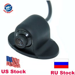 ccd hd backup camera Australia - Mini CCD HD Night Vision 360 Degree Car Rear View Camera Front Camera Front View Side Reversing Backup Camera