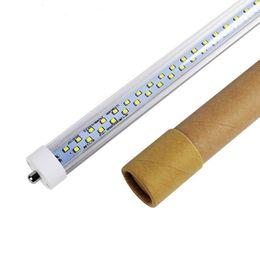 6ft single pin online shopping - FA8 Single Pin T8 Led Light Tubes ft ft ft led led leds Led Tubes For Cooler Lighting Angle AC85 V UL
