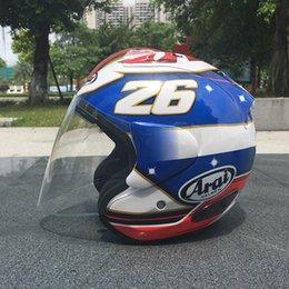 $enCountryForm.capitalKeyWord Australia - Motorcycle half helmet men and women locomotive racing helmet summer light half