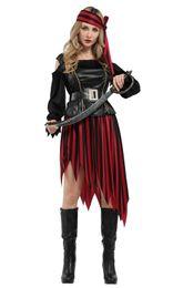 $enCountryForm.capitalKeyWord NZ - Shanghai Story Halloween Adult Women Skirt Masquerade Fancy Dress Pirate Costume Sexy Cosplay Dress