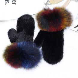 $enCountryForm.capitalKeyWord NZ - MIARA.L 2018 high quality large fox fur cuff whole skin weave fur glove female warm mittens for wholesale in Winter