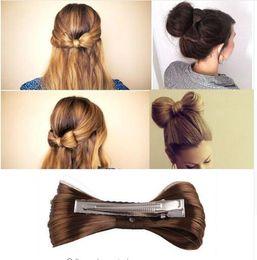 $enCountryForm.capitalKeyWord Australia - Fashion 7 Colors Women Big Bow Hairpin Girls Lovely Wig Popular Hair Clips Hair Accessories New Arrival