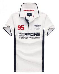 29870fc427c Market 95 London British Fashion Men HKT Racing Casual Polo Shirt Hackett  Sport Polos Cotton Team Aston Polo Shirts Top