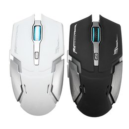 Discount button game mouse - Professional 2.4G Wireless USB Game Mice Rechargeable 2400DPI 6 Buttons Optical USB Ergonomic Computer Mouse For PC Lapt