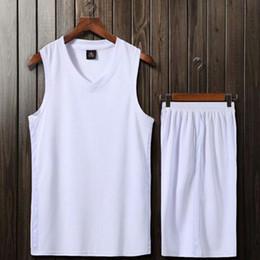 Discount diy summer clothing - Kids Clothing Sets Big Boys Girls All Star Children Basketball Sports Suits T Shirts + Shorts DIY Customized Team Clothe