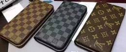 Wholesale HOT SALE famous brands Old flower single pull wallet new purse top quality Mobile phone bag fashion Card wallet NO BOX