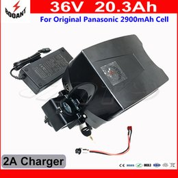 Discount used electric scooter - 800W e Bike Battery 36V 20Ah Scooter Lithium Battery 36V Use Original 18650 Cell With 2A Charger Electric Bicycle Batter