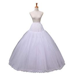 Открытый свадебный женский свадебное платье свадебное платье юбки юбки кранолин юбка скольжения 12015White