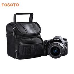 Dslr Cameras Bags Australia - fosoto Nylon DSLR Camera Bag Photo Case For Nikon D3400 D5500 D5300 D5200 D5100 D5000 D3200 for Canon EOS 750D 1100D 1200D 700D
