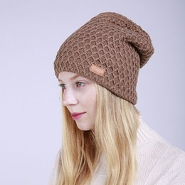 9cb937369b1 Women Knit Beanies Hip Hop Hats Knitted Cap Snapbacks Popular hat cap  fashion style