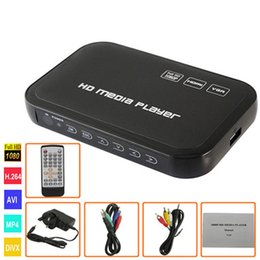 H6W HDD Media Player 1080P Full HD-Eingang SD / USB / HDD-Ausgang HDMI / AV / VGA / AV-Unterstützung DIVX AVI RMVB MP4 Set-Top-Box
