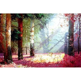 5d diamond UK - 5d diamond painting forest Full diamond embroidery diy resin stone mosaic art diamond painting cross stitch sets wall decoration crafts