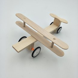 small robot toys UK - Science and Technology Small Manufacture Electric Glide Aircraft Manual Small Invention Experiment Material Popular Science Model