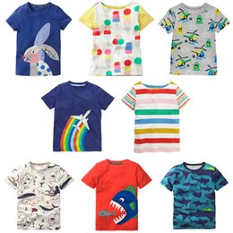 0c0935d5bc4d Kids T-shirts 8 Designs 2-7 years old Kids Boys Girls Summer Short-Sleeved T -shirts Baby Boys Girls Cotton Clothing Kids Clothes LA745