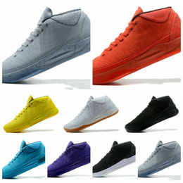 8c59ce680119a1 2018 NEW Kobe 13 A.D EP Basketball Shoes AD Mid Fearless Kobes xii Elite  Sports KB 12s Elite Low Sports Trainers Sneakers 2018