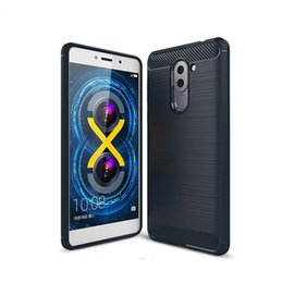 87ccf90d086 1.5mm Soft TPU Brushed Carbon Fiber Case For Huawei P8 Lite 2017 P9 Lite  2017 GR3 2017 Nova Lite Luxury Silicone Texture Phone Cover
